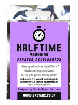Eazymix Halftime 4Bonding Plaster Accelerator (Pack of 5)