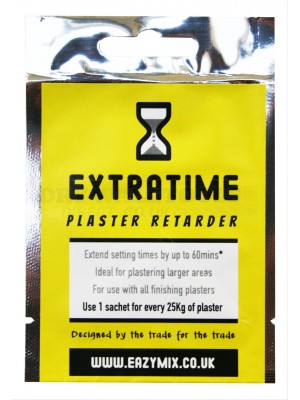 Eazymix Extratime Plaster Retarder (Pack of 10)