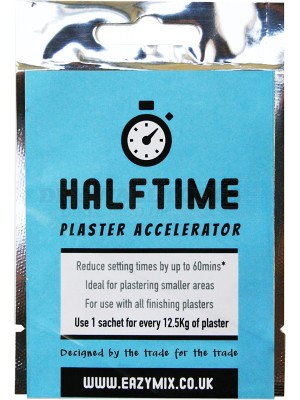 Eazymix Halftime Plaster Accelerator (Pack of 5)