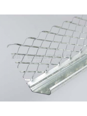 Arrow Starline Galvanised External Render Stop Bead 3000x16-20mm (50 Per Box) - BEER3