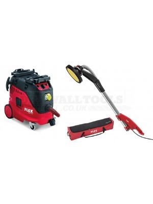 Flex Giraffe Sander GE 7 + MH-O 110V Plus Flex M-Class Safety Vacuum Cleaner VCE 33 M AC 110V - 481.335K