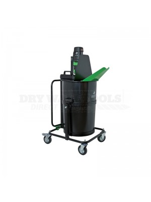 Refina Floormix 110V 2300 Mobile Latex Mixer + Two 110 Liter Tubs - 4582801