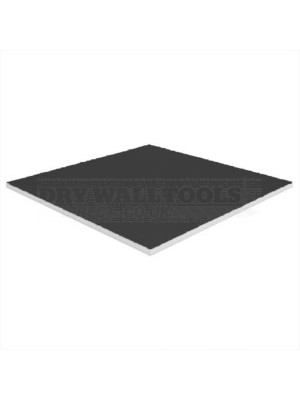British Gypsum Gyprex Satinspar Black Ceiling Tiles (Edge A) 600x600x8mm – 27581/4