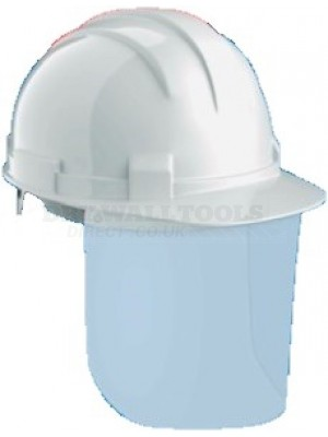 Arrow COVID-19 Blue Hard Hat Plus Safety Shield