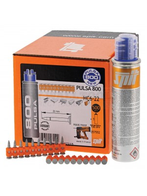 Spit Pulsa 800 HC6-15  Nails 15mm  (Pack Size 500) - 057550
