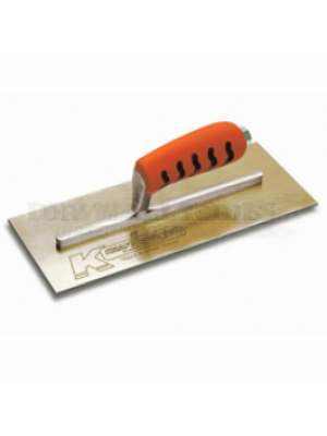 Kraft Tool Finishing Trowels Golden Stainless Steel-18 Inches (T185S)