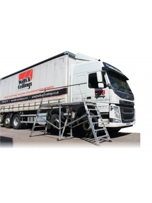 Arrow Vehicle Lorry Hop Up Platform 240x70x140cm