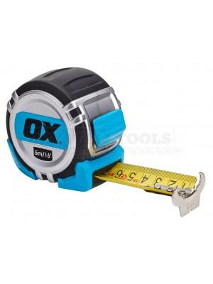 Ox Pro Heavy Duty Tape Measure Metric Only 5m OX-P028905