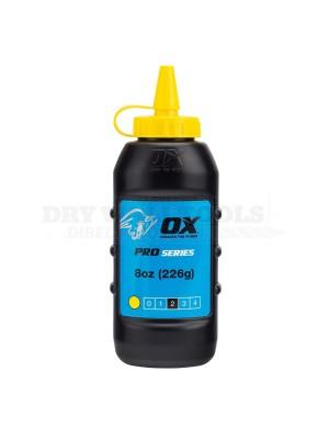 Ox Pro Chalk Powder Yellow 226g OX-P025703