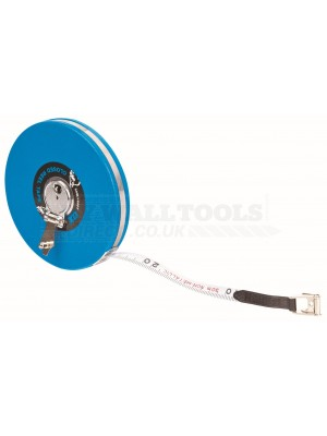 Ox Trade Closed Reel Tape Measure 30m/100ft OX-T023603