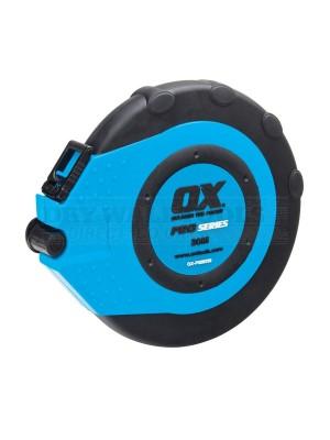 Ox Pro Closed Reel Tape Measure 30m/100ft OX-P028330