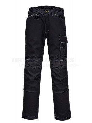 "Portwest PW3 Work Trousers Black, Waist 34"" T601"