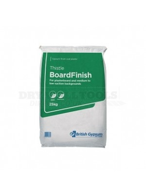 British Gypsum Thistle BoardFinish 25kg (1/2 Pallet - 28 Bags) - 06059/5