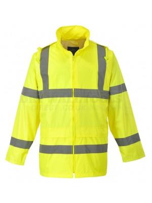 Portwest Hi-Vis Rain Jacket (M,L,XL) - (H440)