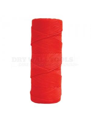 Kraft Fluorescent Orange Braided Nylon Mason's Line - 250ft Tube - BC334T