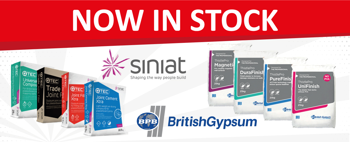 New ranges from British Gypsum and Siniat